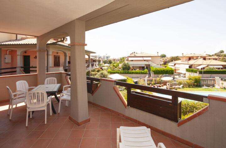 Mezzanina four-room apartments